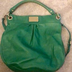 Marc By Marc Jacobs Bags - Marc by Marc Jacobs green leather bag